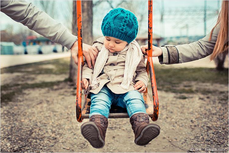 Das Wechselmodell kommt nur in Betracht, wenn die Eltern angemessen miteinander kommunizieren können.