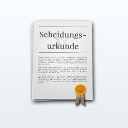 Thumbnail: Scheidungsurkunde