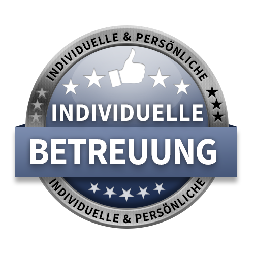 Individuelle Betreuung