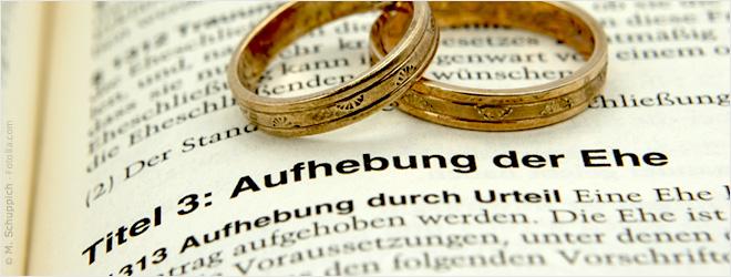 Können Sie nach der Scheidung annullieren
