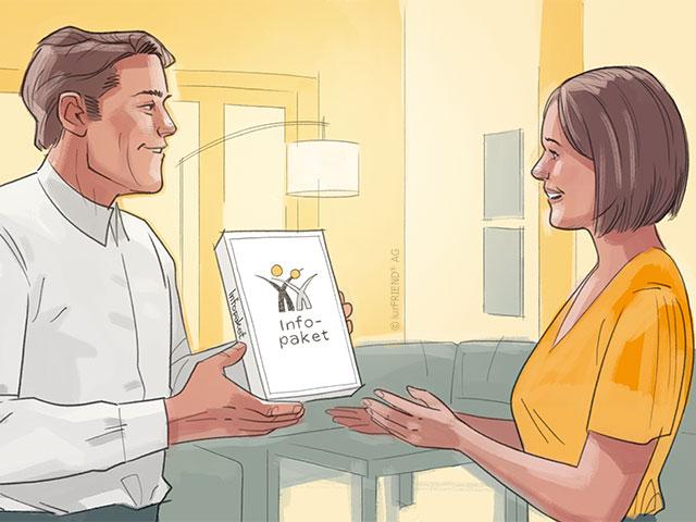 Tipps, die Frau geschieden