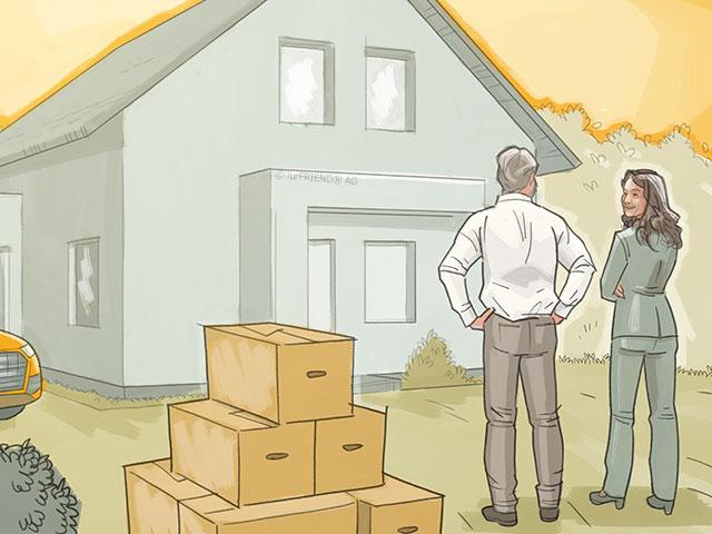 Nach Der Scheidung Haus Und Wohnung Scheidungde